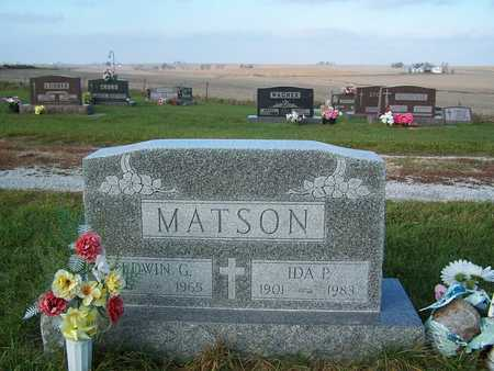 MATSON, IDA PAULINE - Benton County, Iowa | IDA PAULINE MATSON
