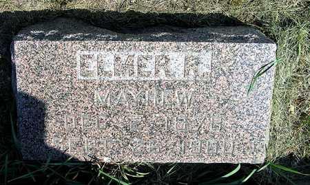 MAYHEW, ELMER R. - Benton County, Iowa | ELMER R. MAYHEW