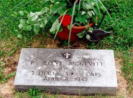 MCKEVITT, PHILLIP REEVE - Benton County, Iowa | PHILLIP REEVE MCKEVITT