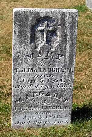 MCLAUGHLIN, MARY - Benton County, Iowa | MARY MCLAUGHLIN