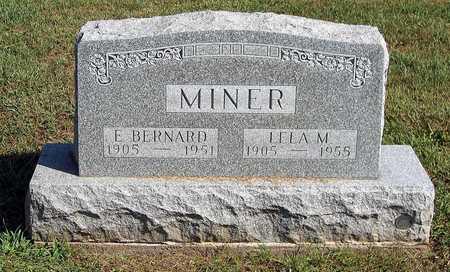 MINER, BERNARD EARL - Benton County, Iowa | BERNARD EARL MINER