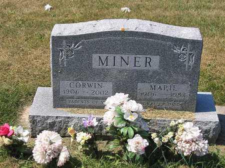 MINER, MARIE LUCILLE - Benton County, Iowa | MARIE LUCILLE MINER