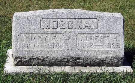 MOSSMAN, ALBERT H. - Benton County, Iowa | ALBERT H. MOSSMAN