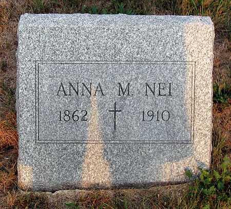 NEI, ANNA M. - Benton County, Iowa | ANNA M. NEI