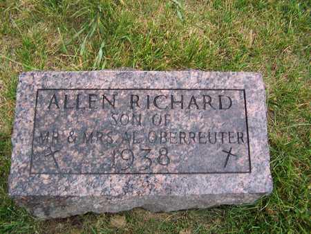 OBERREUTER, ALLEN RICHARD - Benton County, Iowa | ALLEN RICHARD OBERREUTER