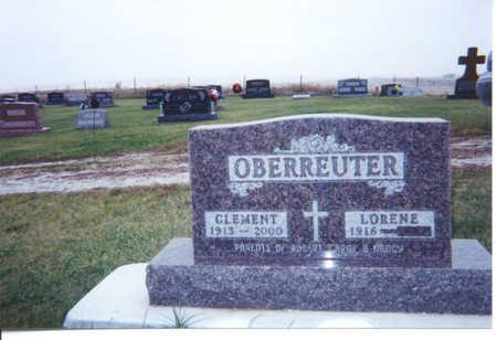 OBERREUTER, CLEM - Benton County, Iowa | CLEM OBERREUTER