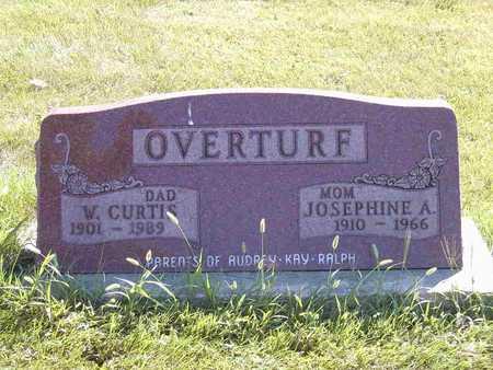 OVERTURF, JOSEPHINE ADELLA - Benton County, Iowa | JOSEPHINE ADELLA OVERTURF