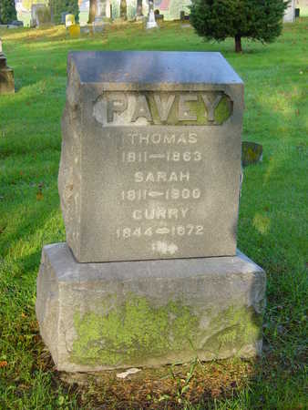 PAVEY, THOMAS - Benton County, Iowa | THOMAS PAVEY