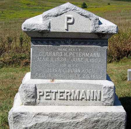 PETERMANN, LOUISA A. - Benton County, Iowa | LOUISA A. PETERMANN