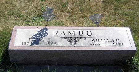 RAMBO, WILLIAM O. - Benton County, Iowa | WILLIAM O. RAMBO