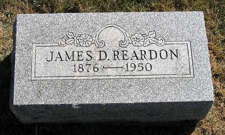 REARDON, JAMES D. - Benton County, Iowa | JAMES D. REARDON