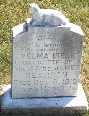 REARDON, VELMA IRENE - Benton County, Iowa | VELMA IRENE REARDON