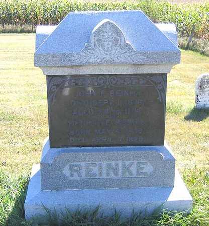 REINKE, HENRIETE - Benton County, Iowa | HENRIETE REINKE