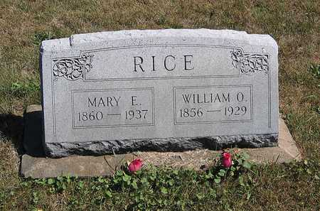 RICE, WILLIAM O. - Benton County, Iowa | WILLIAM O. RICE
