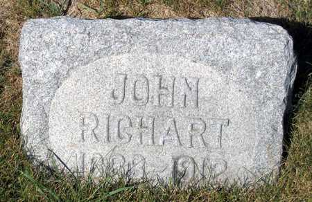 RICHART, JOHN - Benton County, Iowa | JOHN RICHART