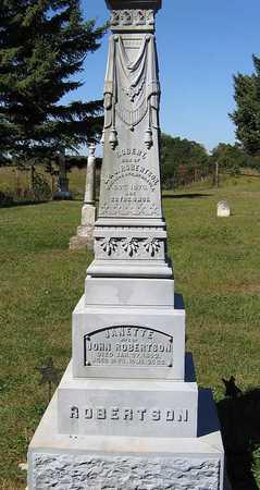 ROBERTSON, ROBERT - Benton County, Iowa | ROBERT ROBERTSON