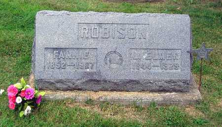 ROBISON, FANNIE - Benton County, Iowa | FANNIE ROBISON