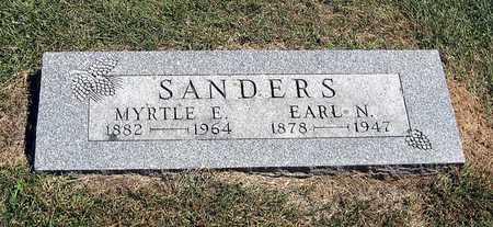 SANDERS, MYRTLE E. - Benton County, Iowa | MYRTLE E. SANDERS