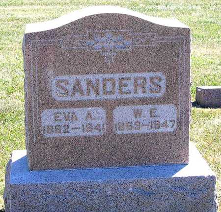 SANDERS, WILLIAM E. - Benton County, Iowa | WILLIAM E. SANDERS
