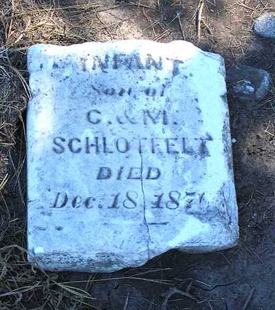 SCHLOTFELT, INFANT SON - Benton County, Iowa | INFANT SON SCHLOTFELT