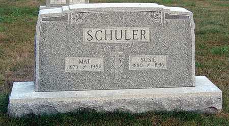 SCHULER, SUSIE - Benton County, Iowa | SUSIE SCHULER