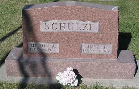 SCHULZE, MILTON A. - Benton County, Iowa | MILTON A. SCHULZE