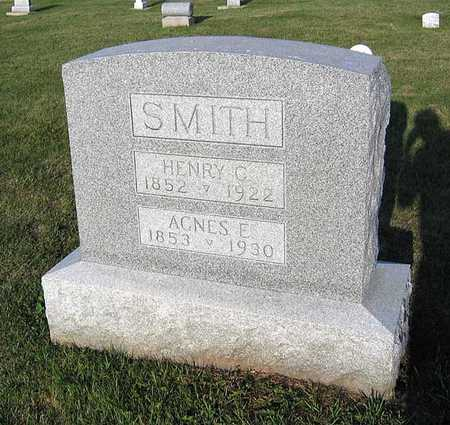 SMITH, AGNES E. - Benton County, Iowa | AGNES E. SMITH