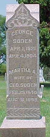 SODEN, MARTHA A. - Benton County, Iowa | MARTHA A. SODEN