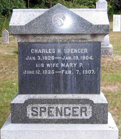 SPENCER, MARY P. - Benton County, Iowa | MARY P. SPENCER