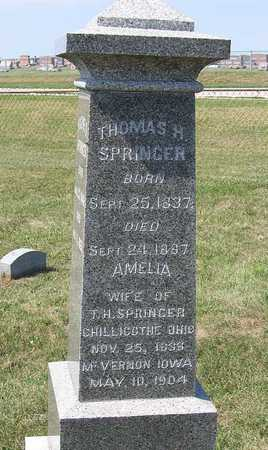SPRINGER, AMELIA - Benton County, Iowa | AMELIA SPRINGER