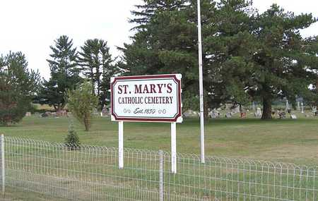 ST. MARY'S - POLK, CEMETERY - Benton County, Iowa | CEMETERY ST. MARY'S - POLK
