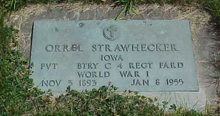 STRAWHECKER, ORREL - Benton County, Iowa | ORREL STRAWHECKER