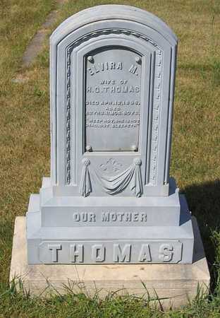THOMAS, ELVIRA M. - Benton County, Iowa | ELVIRA M. THOMAS