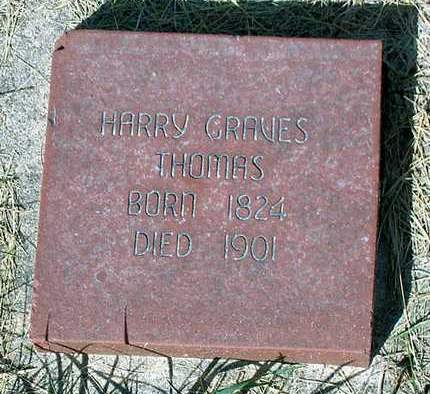 THOMAS, HARRY GRAVES - Benton County, Iowa | HARRY GRAVES THOMAS
