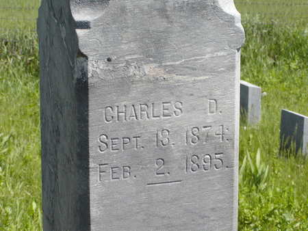 THOMPSON, CHARLES D. - Benton County, Iowa | CHARLES D. THOMPSON