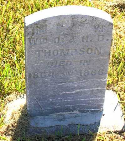 THOMPSON, INFANTS - Benton County, Iowa | INFANTS THOMPSON