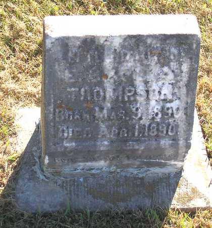 THOMPSON, LITTLE DAUGHTER - Benton County, Iowa | LITTLE DAUGHTER THOMPSON