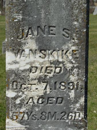 VANSKIKE, JANE - Benton County, Iowa | JANE VANSKIKE