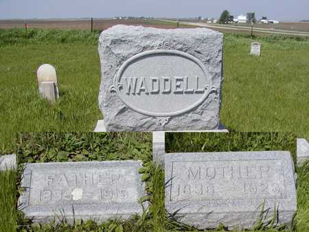 WADDELL, MOTHER - Benton County, Iowa | MOTHER WADDELL