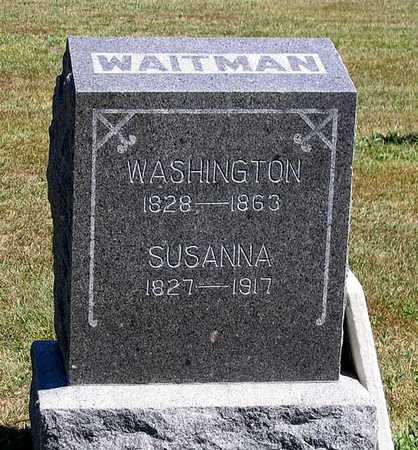 WAITMAN, WASHINGTON - Benton County, Iowa | WASHINGTON WAITMAN