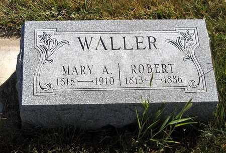 WALLER, MARY A. - Benton County, Iowa | MARY A. WALLER
