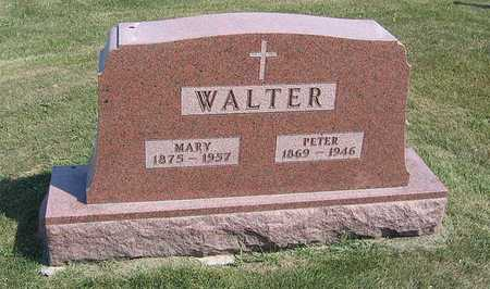 WALTER, PETER - Benton County, Iowa | PETER WALTER
