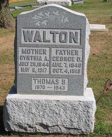 WALTON, GEORGE D. - Benton County, Iowa | GEORGE D. WALTON