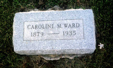 WARD, CAROLINE MABEL - Benton County, Iowa | CAROLINE MABEL WARD
