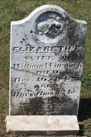 WARNOCK, ELIZABETH E. - Benton County, Iowa | ELIZABETH E. WARNOCK