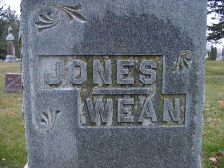 WEAN-JONES, FAMILY STONE - Benton County, Iowa   FAMILY STONE WEAN-JONES