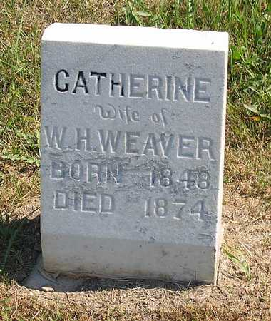WEAVER, CATHERINE - Benton County, Iowa | CATHERINE WEAVER
