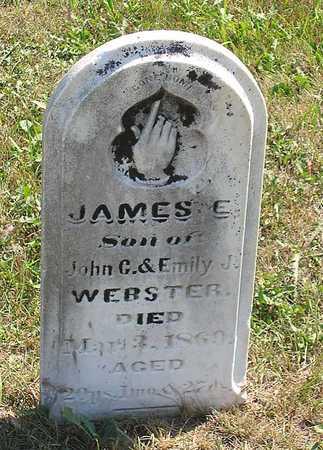 WEBSTER, JAMES ED - Benton County, Iowa | JAMES ED WEBSTER