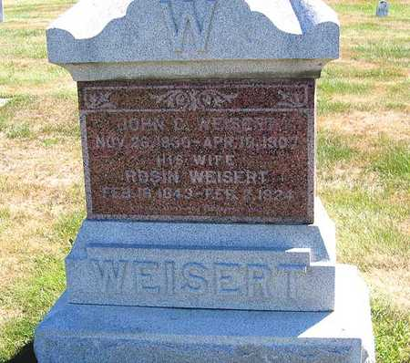 WEISERT, JOHN C. - Benton County, Iowa | JOHN C. WEISERT