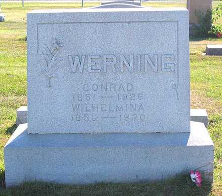 WERNING, WILHELMINA - Benton County, Iowa | WILHELMINA WERNING